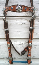 Scalloped Headstalls  $135.00 - $155