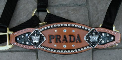 prada custom inlay halter