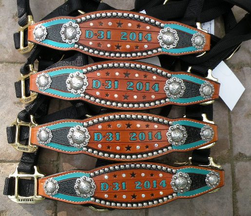 stained award halters