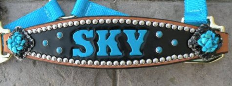 sky custom halter