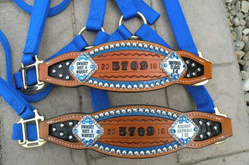 custom award bronc halters