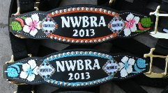 Floral halters - light or black