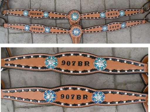 award stamped breastcollars