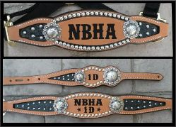 Inlay halters and tack