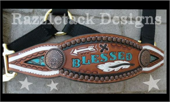 blessed custom halter