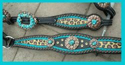 custom bling horse tack set
