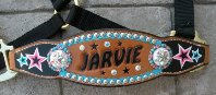 custom bronc halter bling