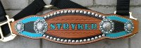 custom bronc halter bling tooled
