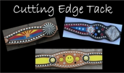 custom horse tack bling