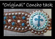 custom horse tack custom conchos