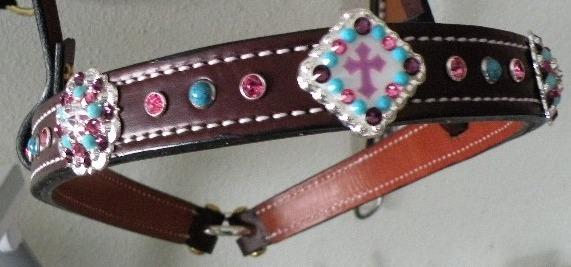noseband crystals custom