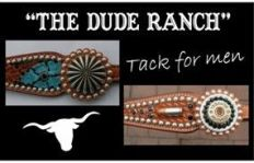 custom horse tack and bronc halters mens