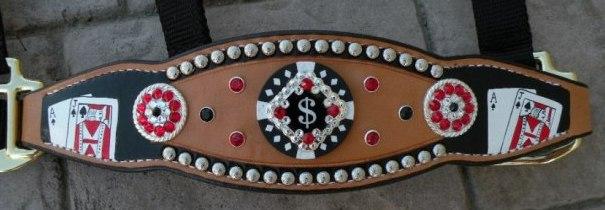 poker bronc halter