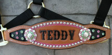 teddy inlay halter