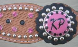 Custom initials headstall