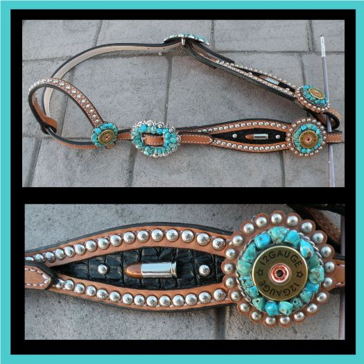 12 gauge bullet headstall